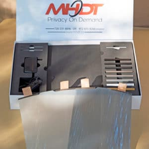 Demo Box for - Smart Tint - ELECTROCHROMIC GLASS Kit  - Buy online