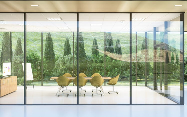 """""""Smart Window Tint"""" for commercial use - corporate offices"""