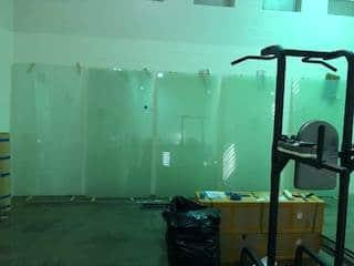 prison privacy glass installation